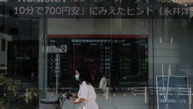 Photo of TOPIX7カ月ぶり高値、米株先物高や出遅れ修正期待-内需けん引 – Bloomberg
