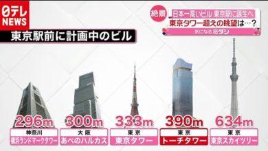 "Photo of 東京タワー見下ろす!""コロナ仕様""日本一高いビル誕生へ(2020年9月17日放送『news every.』より)"