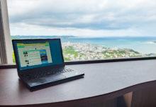 Photo of 眺望最高のテレワーク用ラウンジを整備した「ユインチホテル南城」で沖縄ワーケーション体験 – トラベル Watch