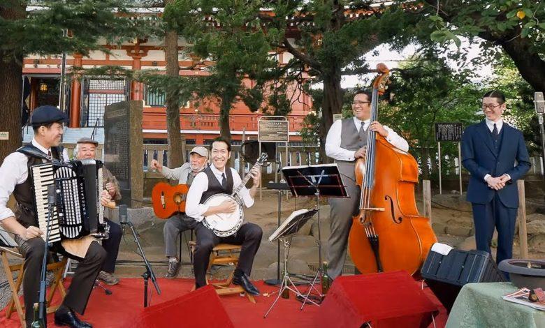 東京大衆歌謡楽団 令和2年9月30日 浅草神社奉納演奏