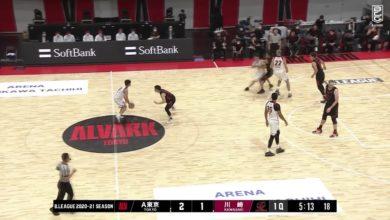 Photo of 【ハイライト】アルバルク東京vs川崎ブレイブサンダース B1第1節GAME2 10.03.2020 プロバスケ (Bリーグ)