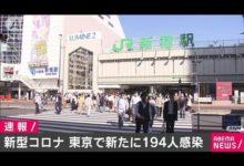 Photo of 新型コロナ 東京の新規感染者194人 再び100人台(2020年9月30日)