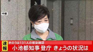 Photo of 新型コロナ 今日の東京感染者数は・・・ 小池都知事コメント