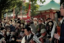 Photo of 東京大衆歌謡楽団 令和二年十月二十五日  浅草神社奉納演奏