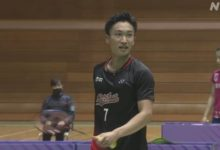 Photo of バドミントン全日本総合選手権 桃田賢斗 逆転勝ちで準決勝進出 | バドミントン