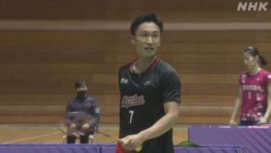 Photo of バドミントン全日本総合選手権 桃田賢斗 逆転勝ちで準決勝進出   バドミントン