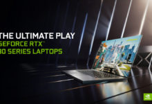 Photo of NVIDIA、モバイル版のGeForce RTX 3000シリーズを発表 – 搭載PCは999ドルから