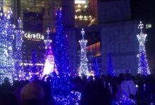 Photo of 2018日本東京自由行-汐留聖誕燈,5個月小福昕覺得如何!?