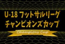 Photo of 2020年度 第5回U-18フットサルリーグチャンピオンズカップ 優勝はペスカドーラ町田! | ジュニアサッカーNEWS