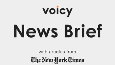 Photo of ボイスメディアVoicy、初の公式英語ニュースチャンネル「Voicy News Brief with articles from The New York Times」のβ版リリース