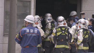 Photo of 【速報】自動車販売店で爆発火災 男性1人がやけどで搬送【HTBニュース】
