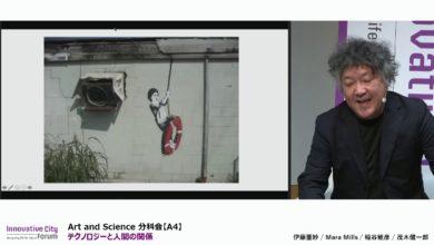 Photo of 【ICF2020】Art and Science 分科会【A4】テクノロジーと人間の関係 ~わかりあう:共感~
