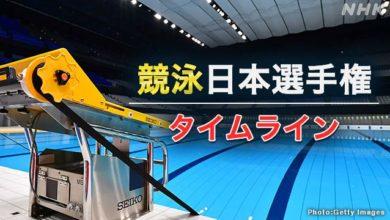 Photo of 【結果詳細】競泳日本選手権最終日 池江は2種目で優勝 4冠達成 | 競泳