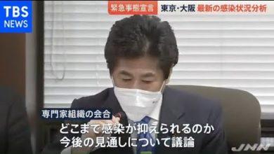Photo of 東京・大阪など最新の感染状況分析 厚労省専門家組織会合
