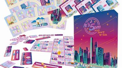 Photo of ボードゲーム「イッツファイブピーエム」が4月下旬に発売。ゲームマーケット2021春で先行販売を実施