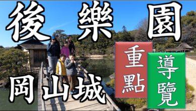 Photo of 後樂園重點導覽|日本三大名園|岡山城|後樂園|日本100名城|後楽園|こうらくえん|Korakuen|岡山自由行|日本庭園|水蜜桃冰淇淋|廣榮堂|城見茶屋|日本自由行EP6