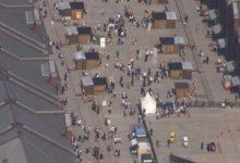 Photo of GW後半戦 空から見たら… 東京は人出減 横浜は混雑   nippon.com