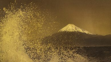 Photo of フジフイルム スクエア 企画写真展 日本の伝統工芸『箔』と写真の融合 織作峰子写真展 HAKU graphy 「Hommage to Hokusai」~悠久の時を旅して~