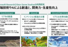 Photo of 日本マイクロソフトがゲーム業界を支援。クリエイター出社率10%というバンナムのDXの取り組みなどを紹介 – PC Watch