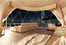 Photo of 【2021年8月オープン】日本初のルーフトップ・ドーム型グランピング施設【AWAJI GLAMPING BEACH VILLA SAZANAMI】