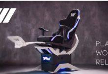 Photo of 3Dゲームをリアルに体感——VRモーションシュミレーター「Yaw2」 | fabcross
