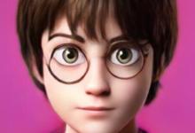 Photo of AIで人の顔をディズニーやピクサー風に変換できる無料アプリ ハリー・ポッターがピクサーぽくなる   Ledge.ai