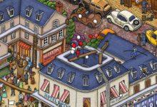 Photo of Switch版「迷路探偵ピエール:ラビリンス・シティ」,セール価格で購入できる先行販売が開始。絵本を元に制作された迷路探検型ゲーム
