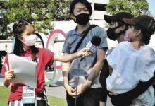 Photo of 「オリンピックに賛成?反対?」 12歳の記者が英語で伝える東京五輪:東京新聞 TOKYO Web