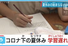 Photo of いよいよ夏休み!でも学校によって休みの数が違う?   やさしいニュース   TVO テレビ大阪