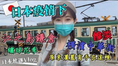 Photo of 日本旅遊Vlog 【日本疫情下】的江之島鎌倉🚃、慘淡橫濱中華街🥘、灌籃高手電影重現🏀、六月滿開繡球花季💙