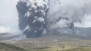 Photo of 熊本 阿蘇山で噴火発生 気象庁 噴火警戒レベル3に引き上げ | NHKニュース